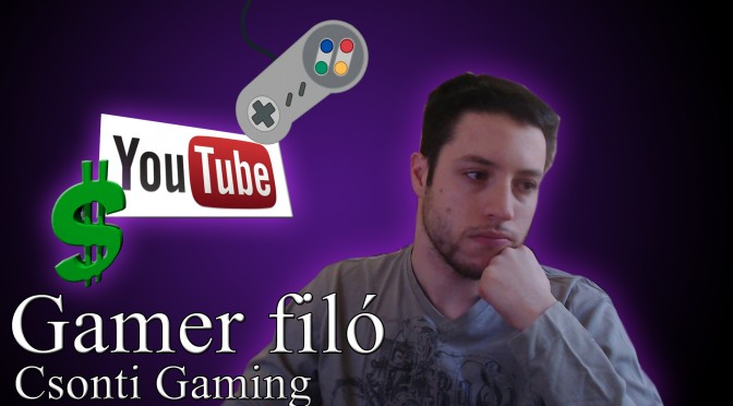 gamer filo csonti gaming