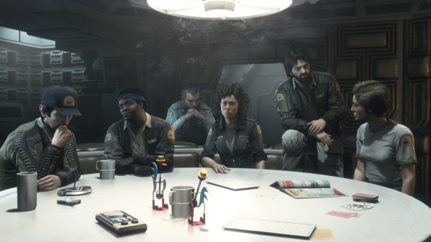 Alien isolation crew