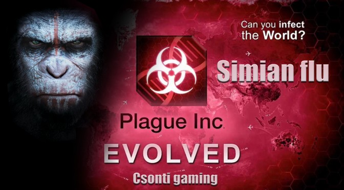 plague inc simian flu csonti gaming