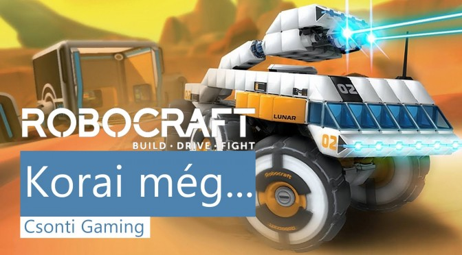 robocraft csonti gaming