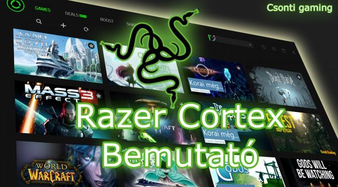 Razer cortex az új gamer alkalmazás