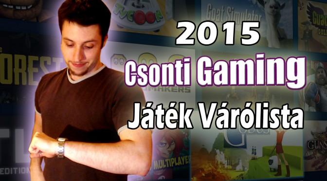 2015 játék várólista