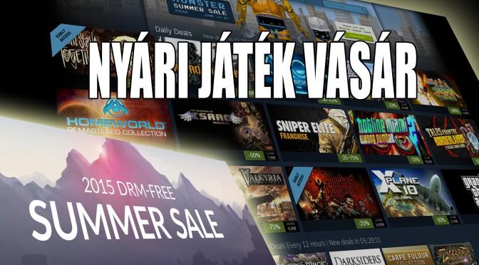 A legjobb Steam-es ajánlatok a nyári vásárban