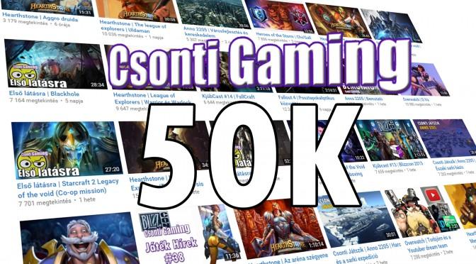 50000 elérve