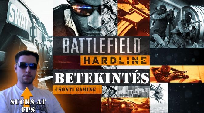 Battlefield hardline béta bemutató