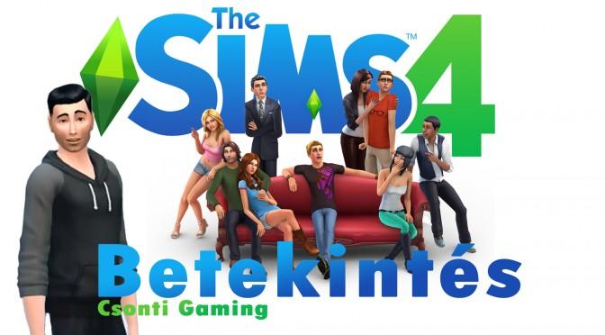 The Sims 4 bepillantás