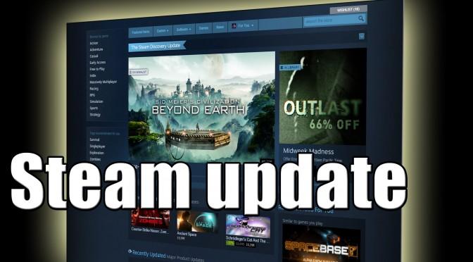 Megújult a Steam