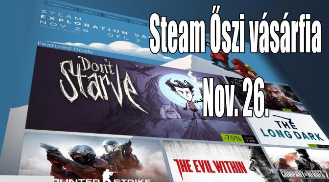 Steam őszi vásár