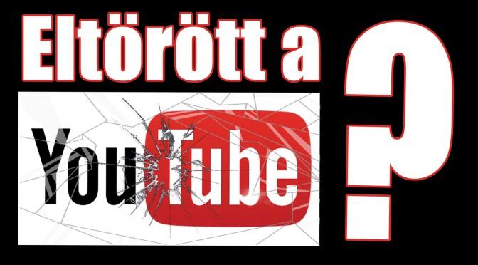 Megzuhantunk | Youtube feliratkozó számok esése