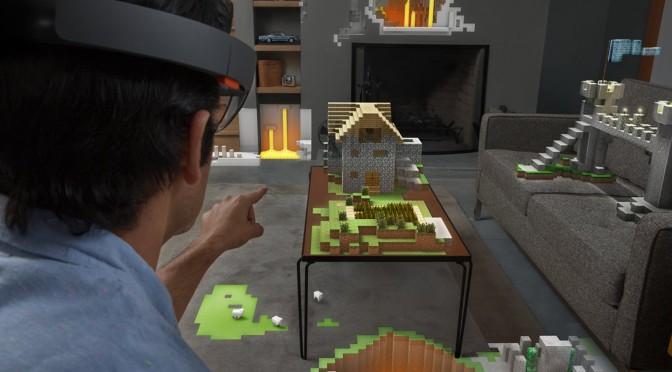 Minecraft a nappaliban – Milyen lesz a Microsoft Hololens