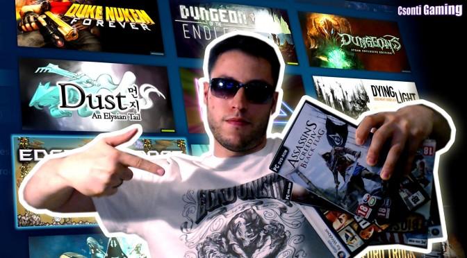 Csonti játék kollekciója avagy pimp my games